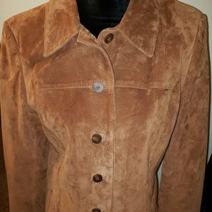 Style and Co size S leather jacket